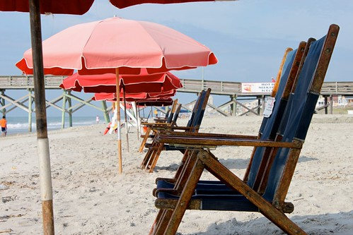 Chairs and Umbrellas