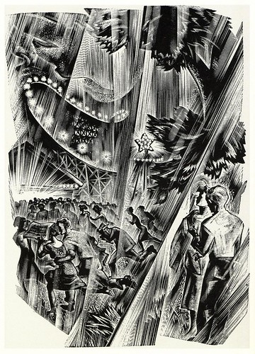 Graphic Novel illustration by Lynd Ward b