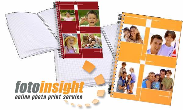 Cuadernos de tapa con fotos