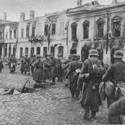 Немецкие войска в Житомире