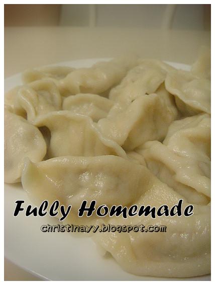 Home-cook: Home-made Dumplings