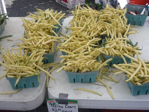 yellow beans farmers market
