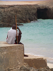 Relaxing Philosophy (jazzondrum) Tags: sea verde beach talk boa vista capo rei sal