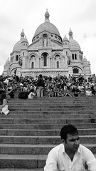 With God, Without People... (Denizoran) Tags: boy blackandwhite white man black paris france waiting butte think praying montmartre want thinking wait wish tension awaiting prayers homme wanting wishing await parisfrance montremartre labuttemontmartre montmartreparisfrance intesion