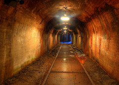 Tunnel Of Color (gatorinsc) Tags: history train birmingham steel alabama tracks tunnel furnace hdr sloss photomatix thepowerofnow