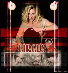 Circus [Circus Era] (3lackoutman) Tags: from music video spears circus album pop queen 2nd single mtv awards britney blend 20082009 blackoutman