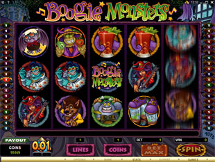 Boogie Monsters slot game online review