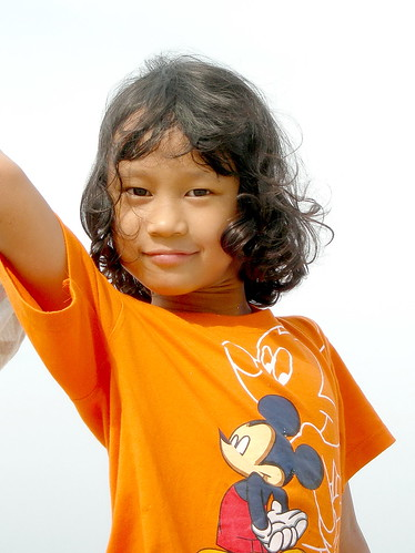 salma baju orange