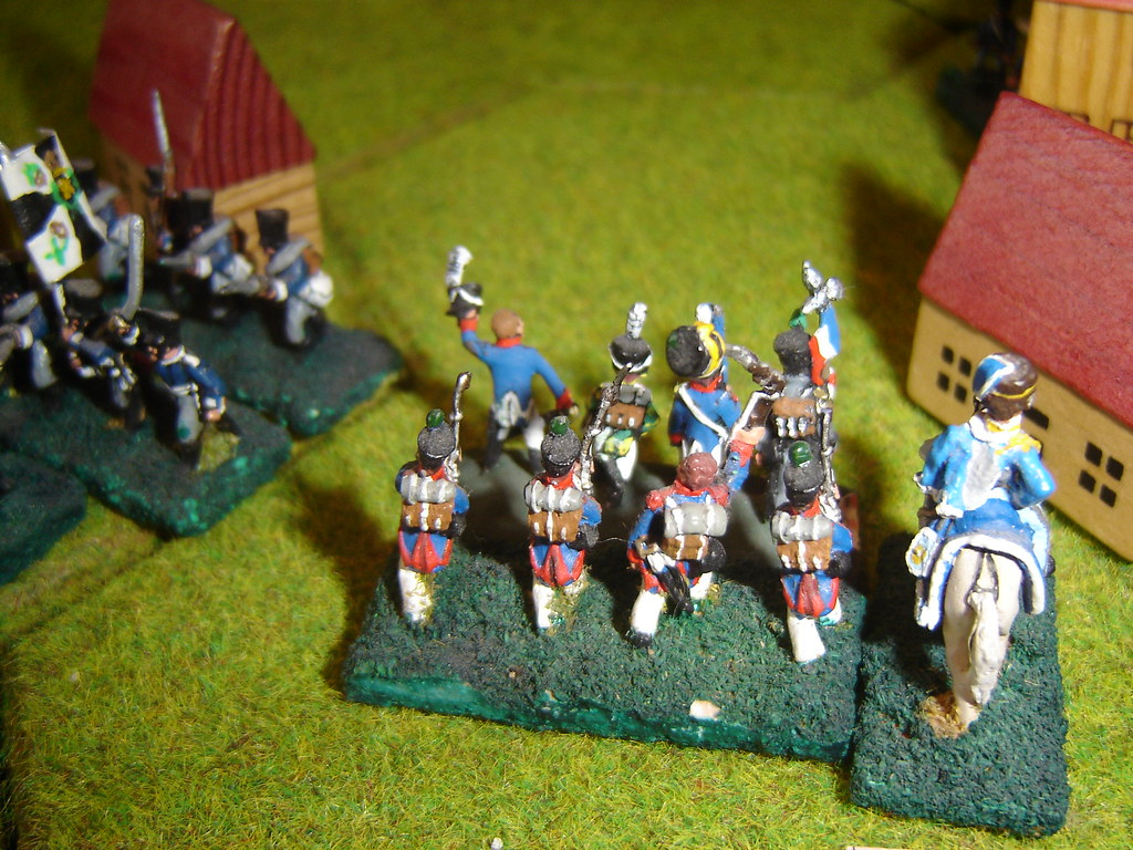 Prussians in Bierge Mill outflanked
