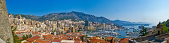 Stitched up in Monte Carlo (Mister History) Tags: sea vacation panorama holiday boats europe riviera ship stitch pano sony monaco 200 carlo monte yachts posh gamble stitched mariner habour sonyalpha