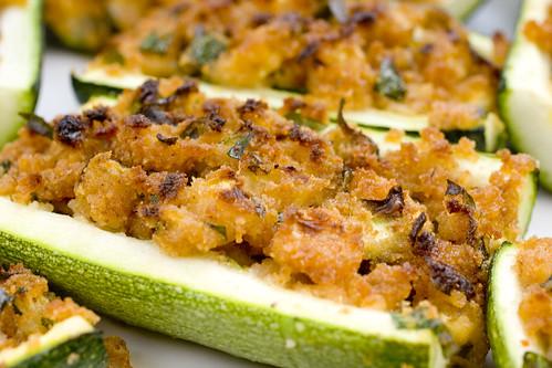 Stuffed Zucchini Boat 2