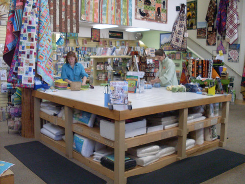 Stitchin Post cutting table