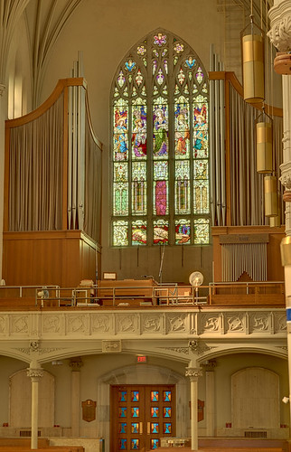 Roman Catholic Cathedral of Saint Peter, in Belleville, Illinois, USA - pipe organ