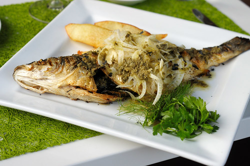 Whole Roasted Loup de Mer