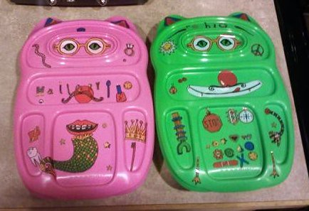 My kids' new Goodbyn Lunchboxes