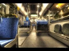 Empty busride #HDR #photog (mescon) Tags: bus public gteborg iso100 moving high nikon ride traffic dynamic sweden empty gothenburg transport sigma transit busride sverige 35 range 1020 hdr hdri resa trafic buss f35 d300 trafik publik vsttrafik vst kommunal 5xp kommunalt