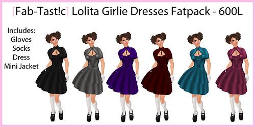 Fab-Tast!c Lolita Girlie Dresses