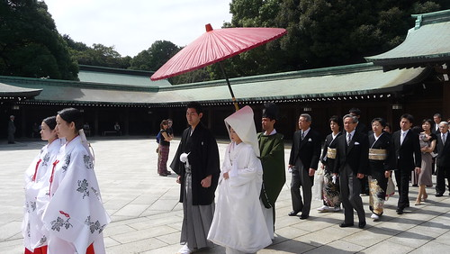 Wedding at Meiji Jingu