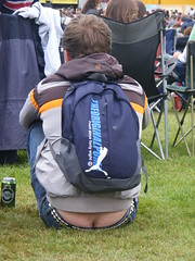 Cracking View (Jo Jakeman) Tags: nottingham uk arse bum wollatonpark nottinghamshire wollaton splendour buildersbum bumcrack arsecrack nottinghamsplendour2009