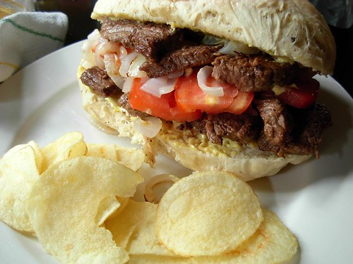 A Serious Steak Sandwich