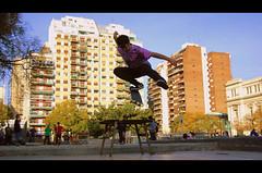 Ride the sky. (††WEEKEND NEVER DIES††) Tags: ninja tiedye mesa calor patineta houssay falsomoment