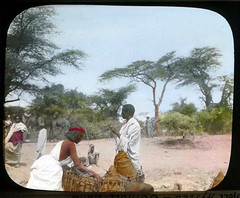 Gathering water jugs for expedition (The Field Museum Library) Tags: africa expedition mammals somalia zoology 1896 carlakeley specimencollection dgelliot