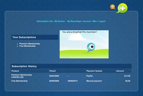 Membership Information Page