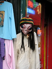 aliens with us (dyakov peter) Tags: travel people travelling colors amsterdam town alien