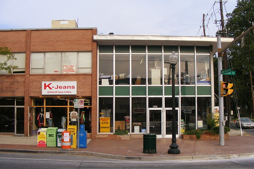 Two-Story Storefronts, Fenton at Silver Spring