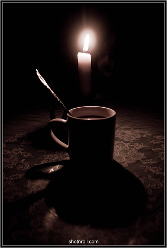 coffee in the dark
