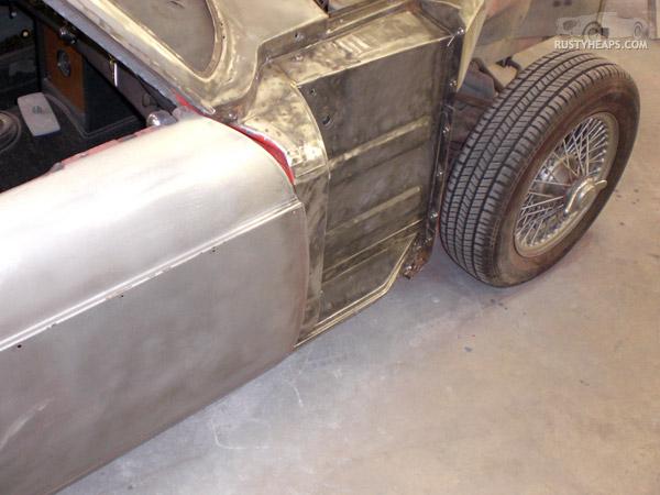 Slowly making progress, 1967 MGB GT