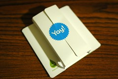 Moo Business Cards (LarimdaME) Tags: 3 color cards anniversary year free yay moo full business businesscards fullcolor