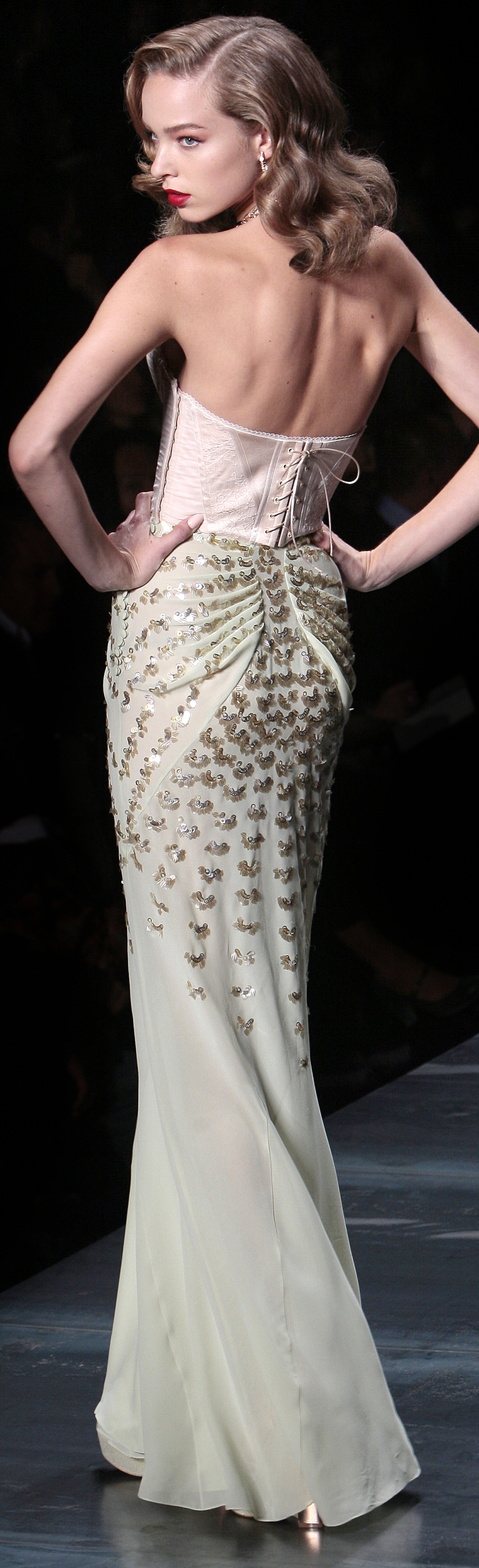 Dior SS10 09 detail