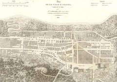 Map of Agana, 1824