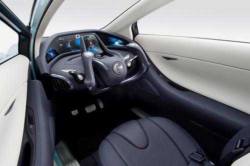 Nissan Land Glider interior