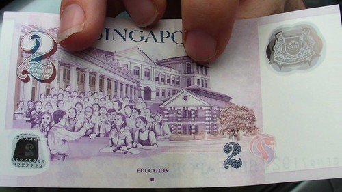 Education on Singapore's $2 bill