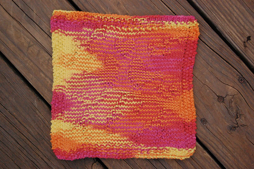 February Mystery Dishcloth KAL