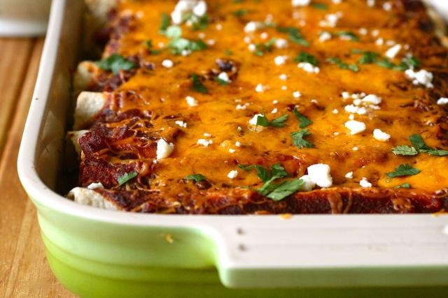 Veggie Enchiladas