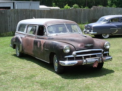 043 (stevenbr549) Tags: black chevrolet car ambulance chevy hearse 1950 1949 combination combo