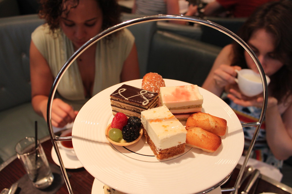Tea Time at the London House Hotel