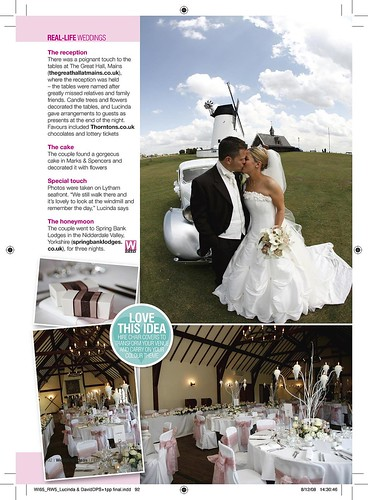 Wedding Ideas Feature Jan 09