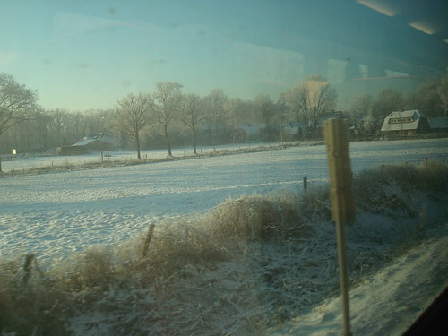 Trem de Amsterdam para Berlim