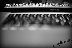 MacBook Pro ,, (A.A.A) Tags: white black love apple by macintosh photography mac focus bokeh laptop bored pro aaa amna irresistible abdulaziz althani macbook