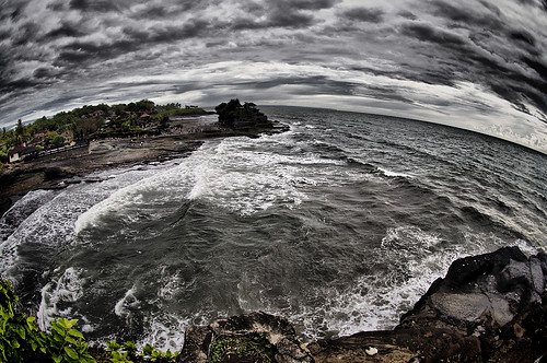 I bent Tanah Lot!
