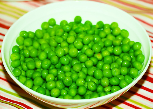 Peas with butter