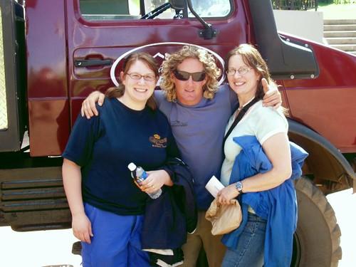 Diane, Larry and Johanna
