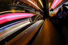 Ya Ya Ya Ya Ya    (Toni_V) Tags: longexposure light motion blur rain vw golf volkswagen fun switzerland moving movement nikon driving zurich perspective fisheye zrich gti 2009 notripod d300 hardbrcke 105mm alliwant toniv lesamisdupetitprince 23012009