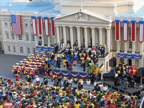 Lego Inauguration
