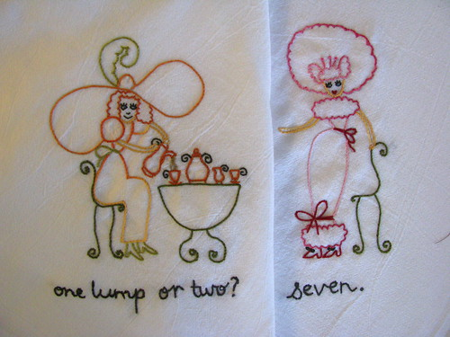 Tea party towels