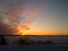 Sunset in Standish